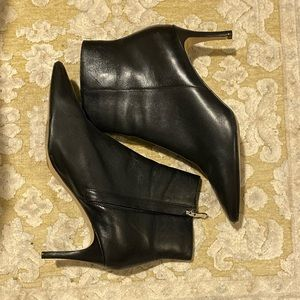 Halogen black booties. Excellent used condition.
